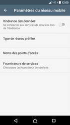 Sony Xperia XA1 - Aller plus loin - Désactiver les données à l'étranger - Étape 7