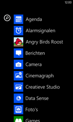 Nokia Lumia 625 - MMS - Afbeeldingen verzenden - Stap 2