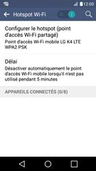 LG K4 - Internet et connexion - Partager votre connexion en Wi-Fi - Étape 13