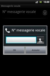 Sony Ericsson Xperia Mini Pro - Messagerie vocale - configuration manuelle - Étape 8