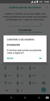 Wiko View Dual SIM - Aplicações - Como configurar o WhatsApp -  10