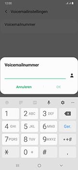 Samsung Galaxy A50 - Voicemail - handmatig instellen - Stap 11