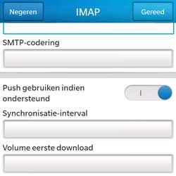BlackBerry Q5 - E-mail - e-mail instellen: IMAP (aanbevolen) - Stap 15
