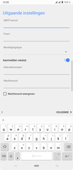 Sony xperia-10-plus-I4123 - E-mail - Account instellen (POP3 met SMTP-verificatie) - Stap 19