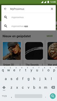 OnePlus 3 - Applicaties - MyProximus - Stap 6