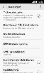 Huawei Ascend Y330 - SMS - SMS-centrale instellen - Stap 5
