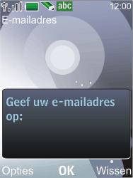 Nokia 7210 supernova - E-mail - Handmatig instellen - Stap 10
