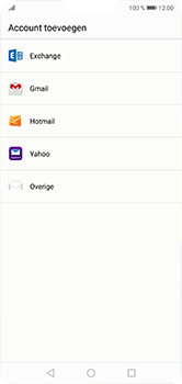 Huawei P20 Lite - E-mail - handmatig instellen - Stap 4