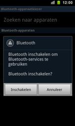 Samsung I9100 Galaxy S II - Contactgegevens overzetten - delen via Bluetooth - Stap 7