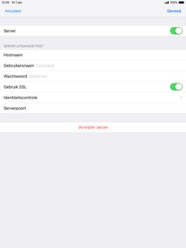 Apple ipad-mini-5-7-9-inch-2019-model-a2124 - E-mail - Account instellen (POP3 zonder SMTP-verificatie) - Stap 18