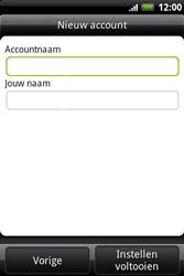 HTC A510e Wildfire S - E-mail - e-mail instellen: IMAP (aanbevolen) - Stap 11