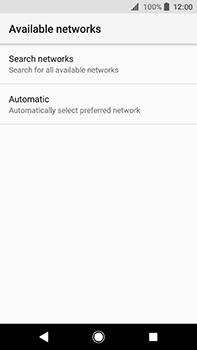 Sony Xperia XA2 Ultra - Network - Manually select a network - Step 7
