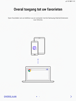 Samsung Galaxy Tab S2 9.7 - Android Nougat - Internet - Handmatig instellen - Stap 20