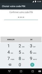 Motorola Moto E (1st Gen) (Lollipop) - Sécuriser votre mobile - Activer le code de verrouillage - Étape 10