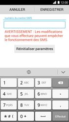 Huawei Ascend G6 - SMS - configuration manuelle - Étape 6