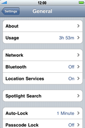 Apple iPhone 4 - Internet - Manual configuration - Step 4