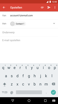 Huawei Nexus 6P - Android Oreo - E-mail - e-mail versturen - Stap 6