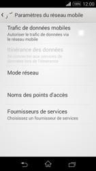 Sony Xpéria E3 - Internet et connexion - Désactiver la connexion Internet - Étape 8