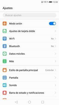 Huawei Mate 9 - Funciones básicas - Activar o desactivar el modo avión - Paso 4