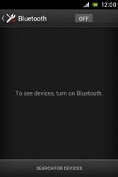 Sony C1505 Xperia E - WiFi and Bluetooth - Setup Bluetooth Pairing - Step 5