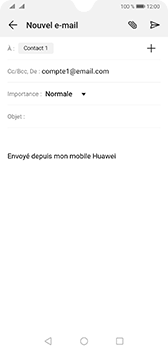 Huawei Mate 20 - E-mail - envoyer un e-mail - Étape 6