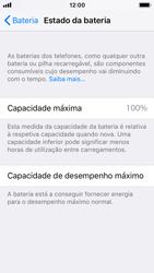 Apple iPhone SE - iOS 11 - Bateria - Como desativar a gestão de desempenho -  5