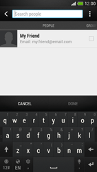 HTC One Mini - E-mail - Sending emails - Step 6