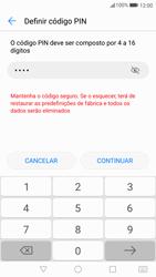 Huawei P10 - Segurança - Como ativar o código de bloqueio do ecrã -  7