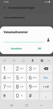 Samsung galaxy-a8-2018-sm-a530f-android-pie - Voicemail - Handmatig instellen - Stap 10