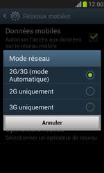 Samsung I8190 Galaxy S III Mini - Réseau - Changer mode réseau - Étape 7