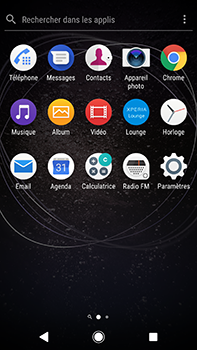 Sony Xperia XA2 Ultra - Wi-Fi - Accéder au réseau Wi-Fi - Étape 3
