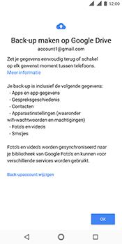 Nokia 5.1 - Data - maak een back-up met je account - Stap 9