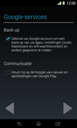Sony D2005 Xperia E1 - Applicaties - Account aanmaken - Stap 15