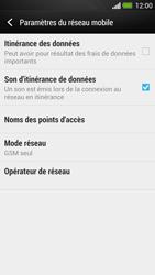 HTC One - Réseau - Changer mode réseau - Étape 7