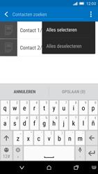 HTC One M9 (Model 0PJA100) - Contacten en data - Contacten kopiëren van SIM naar toestel - Stap 9