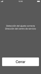 Apple iPhone 5s - iOS 11 - Mensajería - Configurar el equipo para mensajes de texto - Paso 4