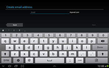 Samsung N8000 Galaxy Note 10-1 - Applications - Downloading applications - Step 5