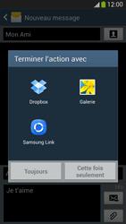 Samsung I9505 Galaxy S IV LTE - MMS - envoi d'images - Étape 14