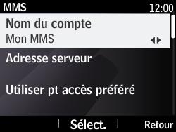 Nokia Asha 210 - Mms - Configuration manuelle - Étape 8