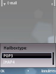 Nokia E75 - E-mail - Handmatig instellen - Stap 11