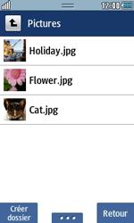 Samsung Wave 723 - Photos, vidéos, musique - Envoyer une photo via Bluetooth - Étape 6