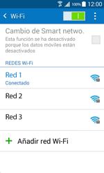 Samsung Galaxy Core Prime - WiFi - Conectarse a una red WiFi - Paso 8