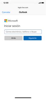 Apple iPhone X - E-mail - Configurar Outlook.com - Paso 6
