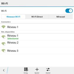 BlackBerry Passport - WiFi et Bluetooth - Configuration manuelle - Étape 9