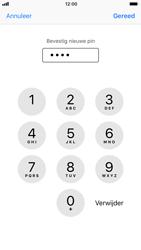 Apple iPhone 6s met iOS 11 (Model A1688) - Beveiliging en ouderlijk toezicht - Hoe wijzig ik mijn SIM PIN-code - Stap 11