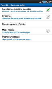 Samsung P1000 Galaxy Tab - Internet - Configuration manuelle - Étape 6