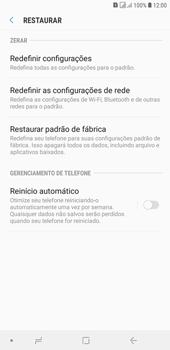Samsung J4+ - Funções básicas - Como restaurar as configurações originais do seu aparelho - Etapa 6