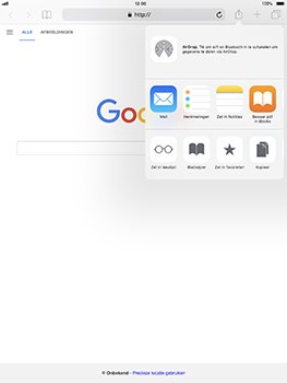 Apple iPad Pro 10.5 inch met iOS 11 (Model A1709) - Internet - Hoe te internetten - Stap 16
