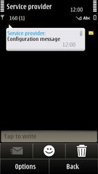Nokia E7-00 - MMS - Automatic configuration - Step 4