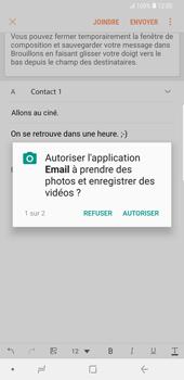 Samsung Galaxy S9 Plus - E-mails - Envoyer un e-mail - Étape 13